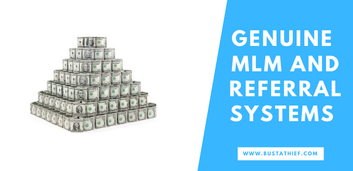 Genuine MLM and Referral Systems