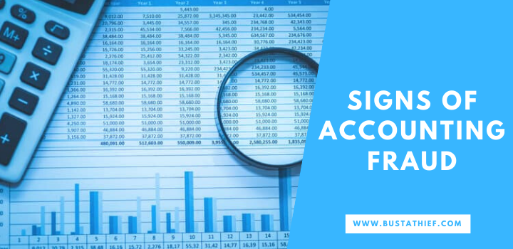 Signs of Accounting Fraud