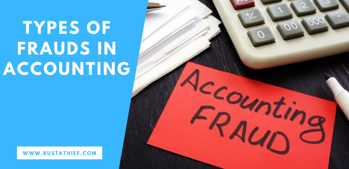 Types Of Frauds In Accounting