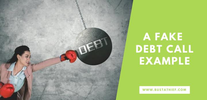 A Fake Debt Call