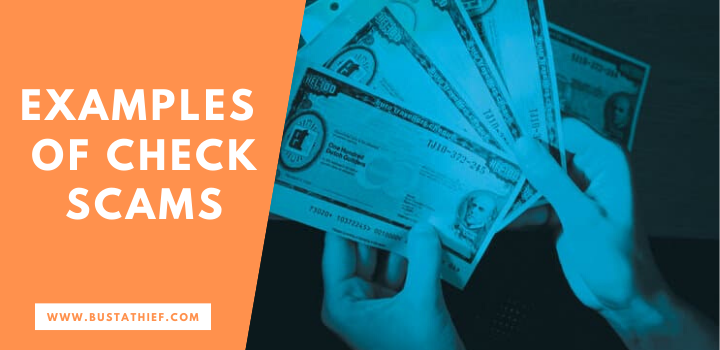 Examples of check scams