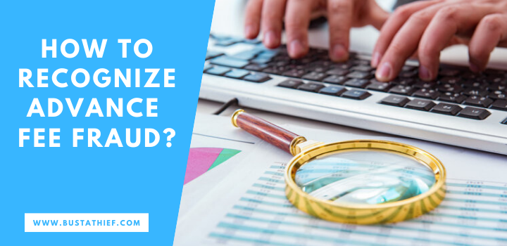 How to recognize advance fee fraud