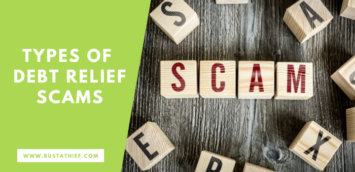 Types Of Debt Relief Scams