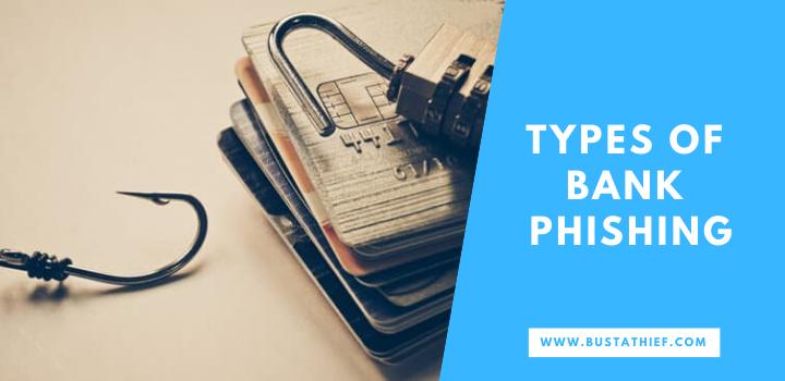 Types of bank phishing