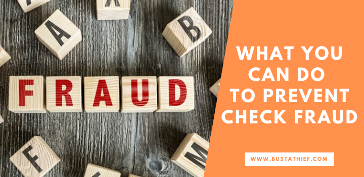 What you can do to prevent check fraud