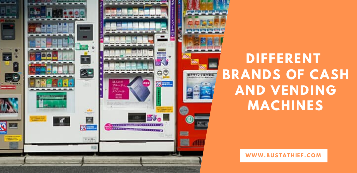Different Brands of Cash and Vending Machines