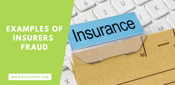 Examples Of Insurers Fraud