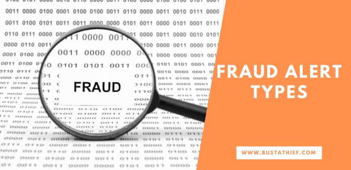 Fraud Alert Types