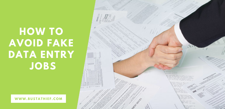 How To Avoid Fake Data Entry Jobs