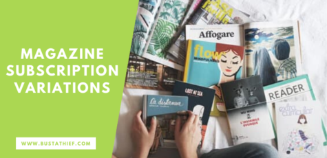 Magazine Subscription Variations