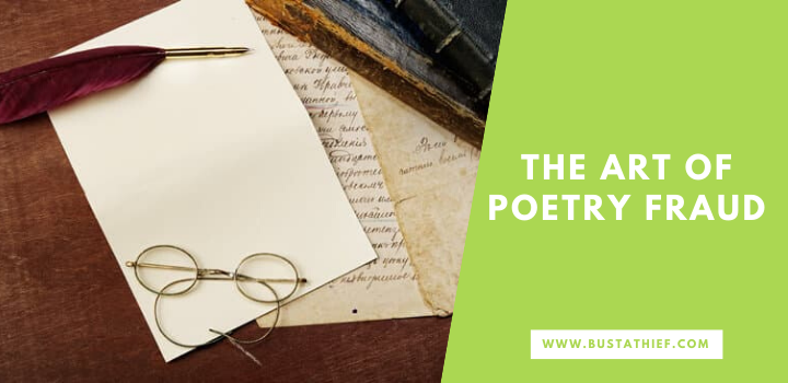 The Art Of Poetry Fraud
