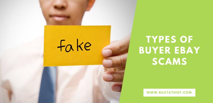 Types Of Buyer eBay Scams