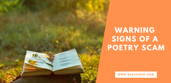 Warning Signs Of A Poetry Scam