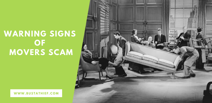 Warning Signs Of Movers Scam