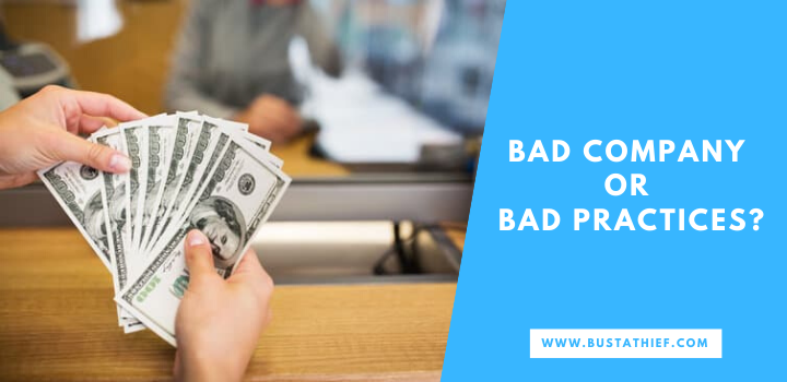 Bad Company Or Bad Practices 2