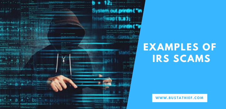 Examples Of IRS Scams