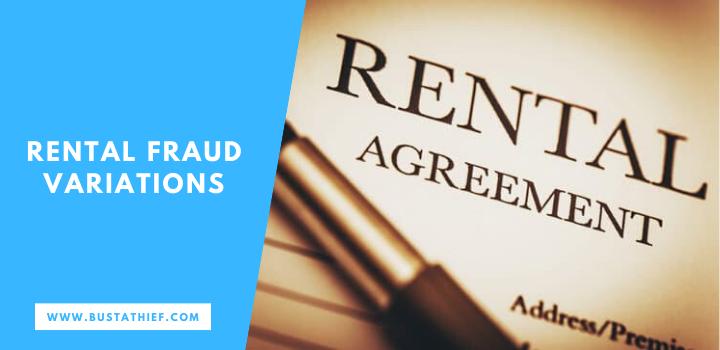Rental Fraud Variations
