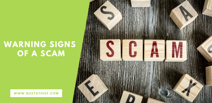 Warning Signs Of A Scam
