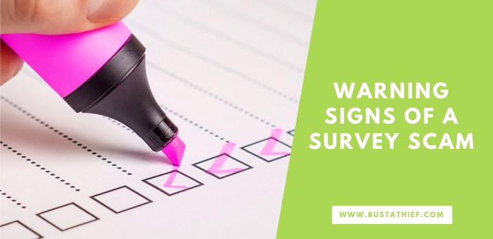 Warning Signs Of A Survey Scam