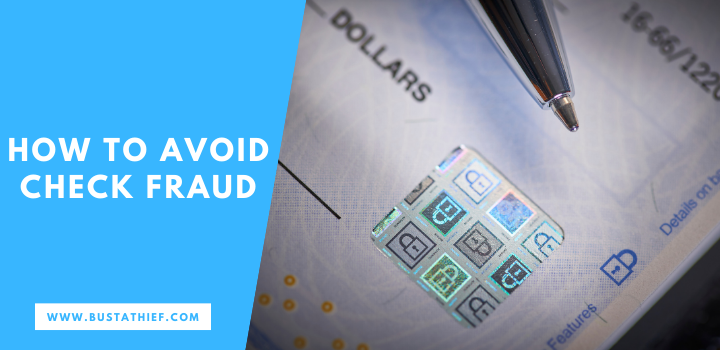 How To Avoid Check Fraud