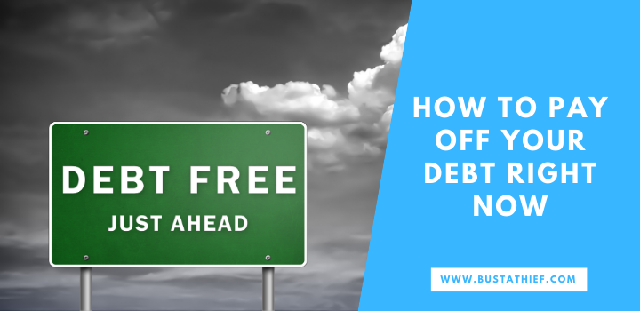 How To Pay Off Your Debt Right Now
