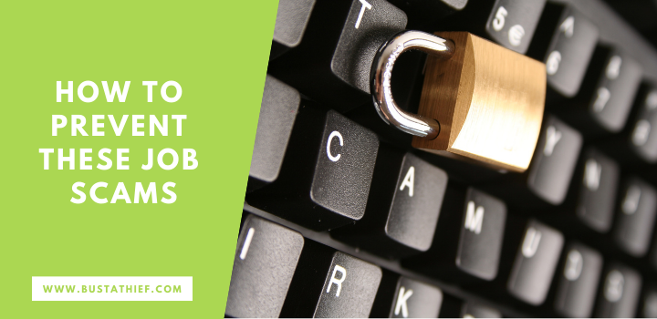 How To Prevent These Job Scams