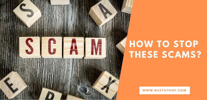 How To Stop These Scams