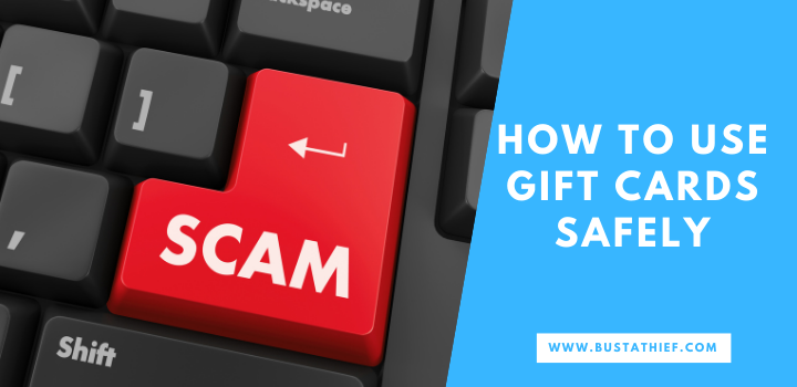 How to Use Gift Cards Safely