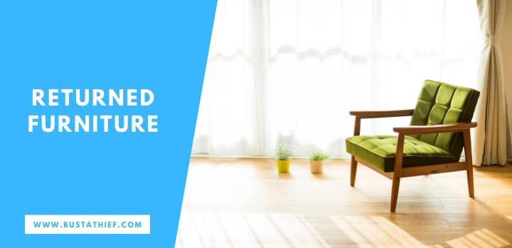 Returned Furniture