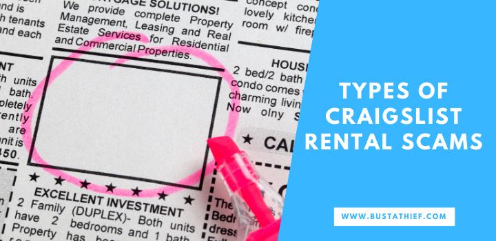 Types Of CraigsList Rental Scams