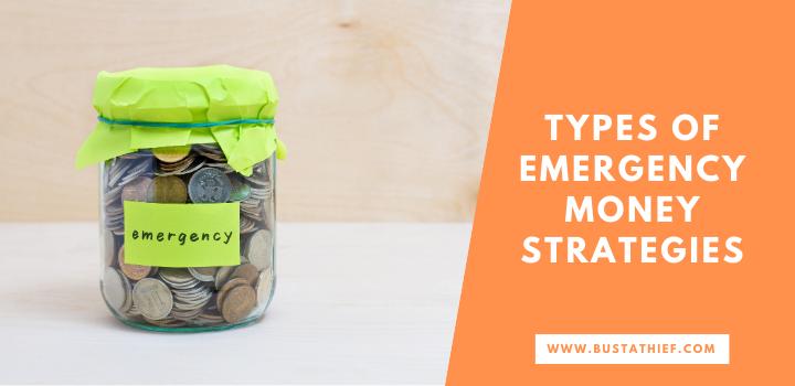 Types Of Emergency Money Strategies