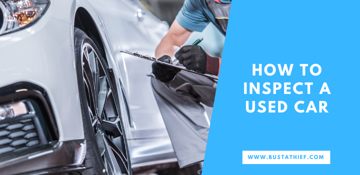 How To Inspect A Used Car 1