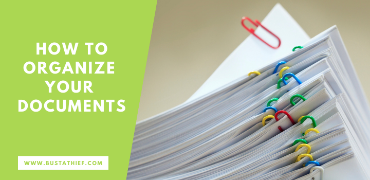 How to Organize Your Documents