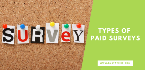 Types Of Paid Surveys