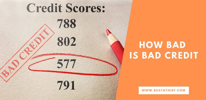 How Bad Is Bad Credit