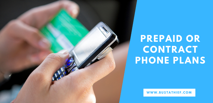 Prepaid or Contract Phone Plans