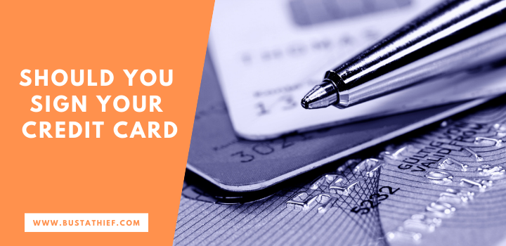 Should You Sign Your Credit Card