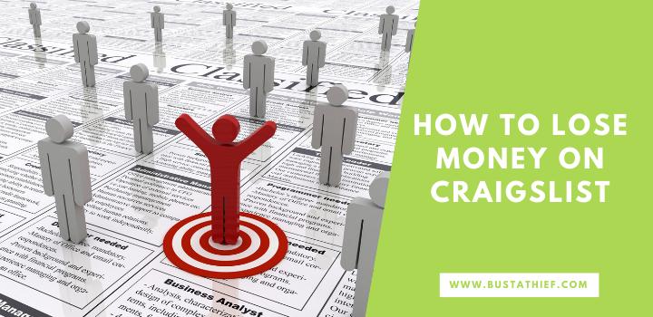 How to Lose Money on Craigslist