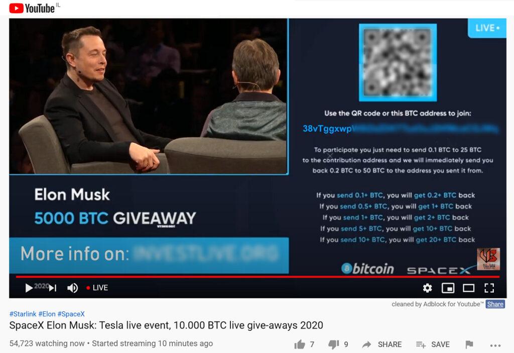 elon musk bitcoin scam million