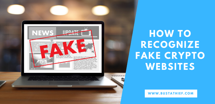 How To Recognize Fake Cryptocurrency Websites